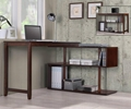 Home Office Swing Out Rotary Shelf L Shaped Desk