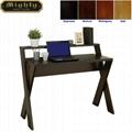 Wooden Espresso Modern Computer Desks For Sale