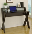 Wooden Espresso Modern Computer Desks For Sale