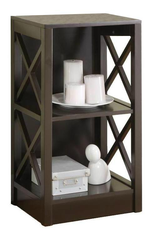 ... 3 5 Tiered X Shaped Side Panels Modern Book Storage Shelves 3 ...