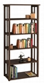 Mission Style 3 Tier Display Shelf & 5 Tier Display Shelf