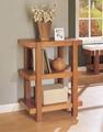 3, 4, 5 Tiered Display Natural Oak Block Wood Shelves