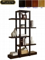 5 Tier Ladder Display Etagere Open Concept Shelving Unit