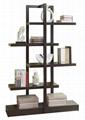 Unique 5 Tier Open Display Ladder Stand Bookshelf Ideas