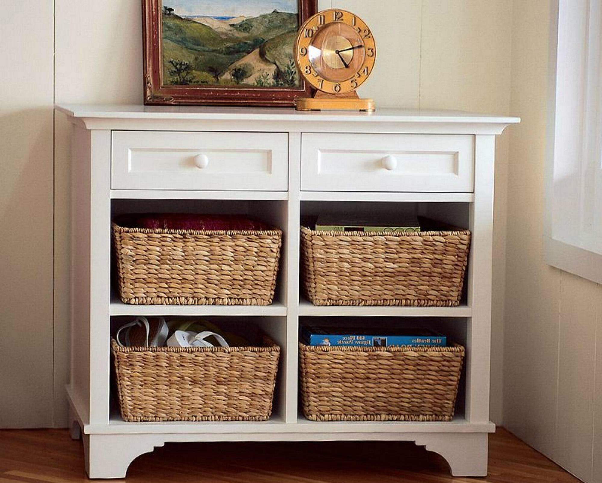 Foyer Storage Console Table : Wooden cubby console white sofa entryway table with