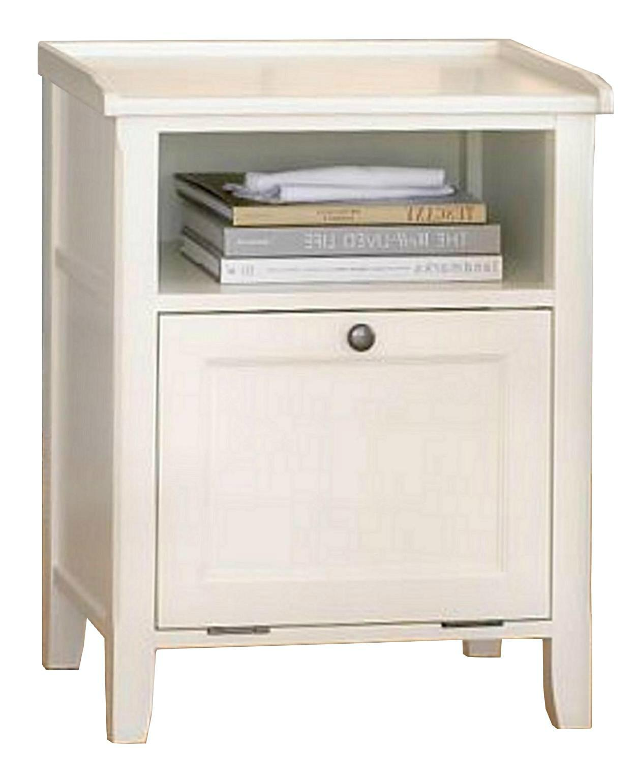 Wooden modern occasional white side table with storage wd 2084 mighty taiwan manufacturer - Contemporary side tables with storage ...