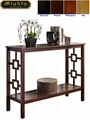 Wooden Stylish Entry Hall Contemporary Console Foyer Tables