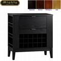 Home Leaf-Open Mini Buffet Furniture Liquor Cabinets