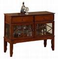 Kitchen console cabinet vintage buffet bar tables wd for Küchenbuffet vintage