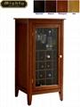 Wooden Black Wine Storage Console Sideboard Buffet Cabinet Wd 1728