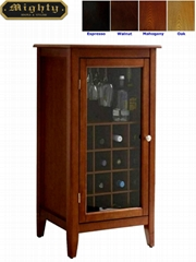 16 Bottles Modern Home Bars And Wine Storage Cabinet For Sale