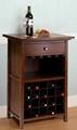 20 Bottles Home Design Glass Holder Wine Bar Cabinets For Sale
