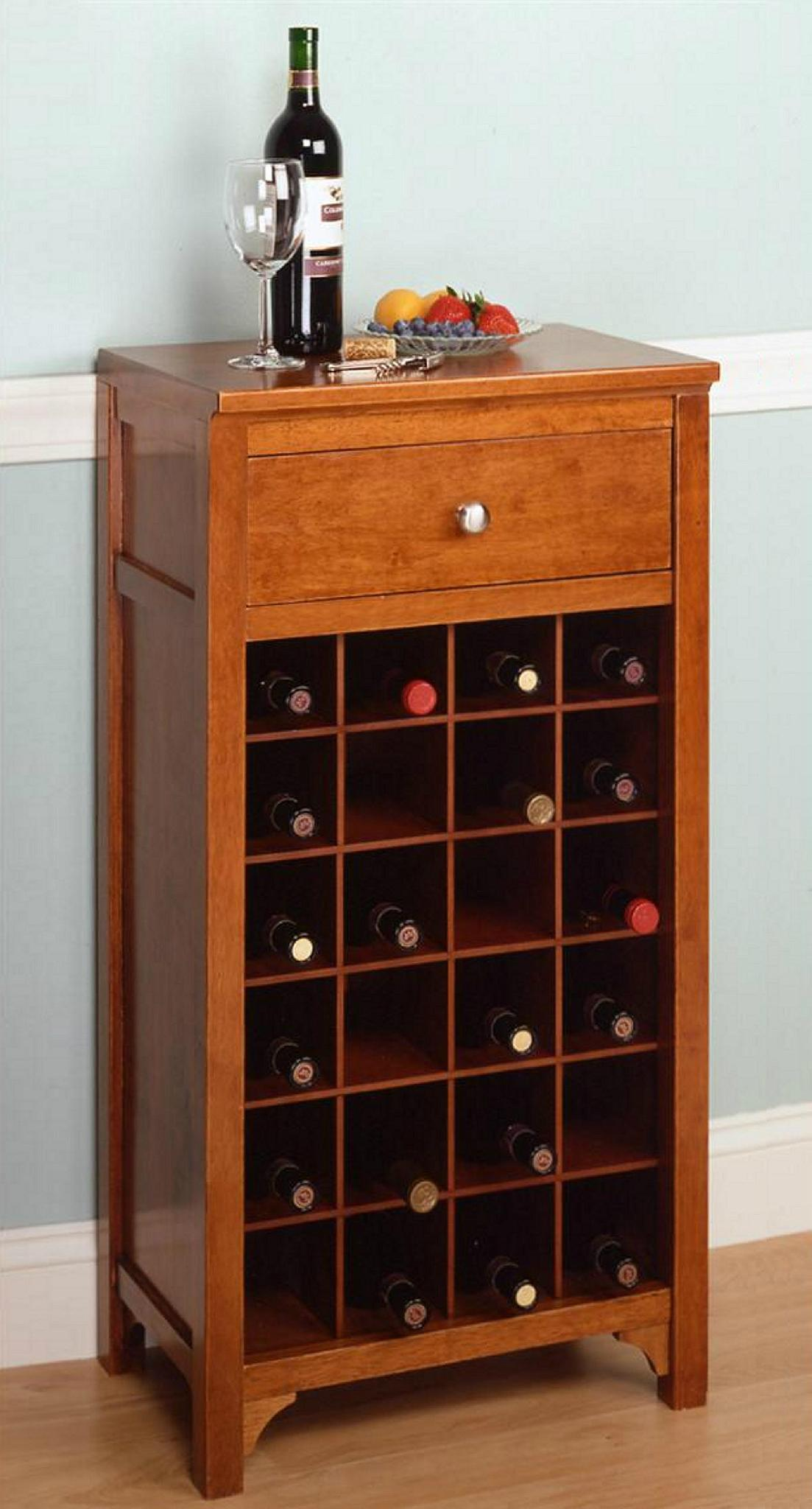 24 bottles wine rack small home bar cabinet furniture for for Home furniture for sale