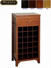 24 Bottles Wine Rack Small Home Bar Cabinet Furniture For Sale