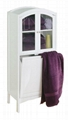 Arch Top Laundry Cabinet & Bathroom Space Saver Over Toilet