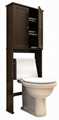 Wooden 2 Door Bathroom Pantry & Spacesaver Bathroom Shelves