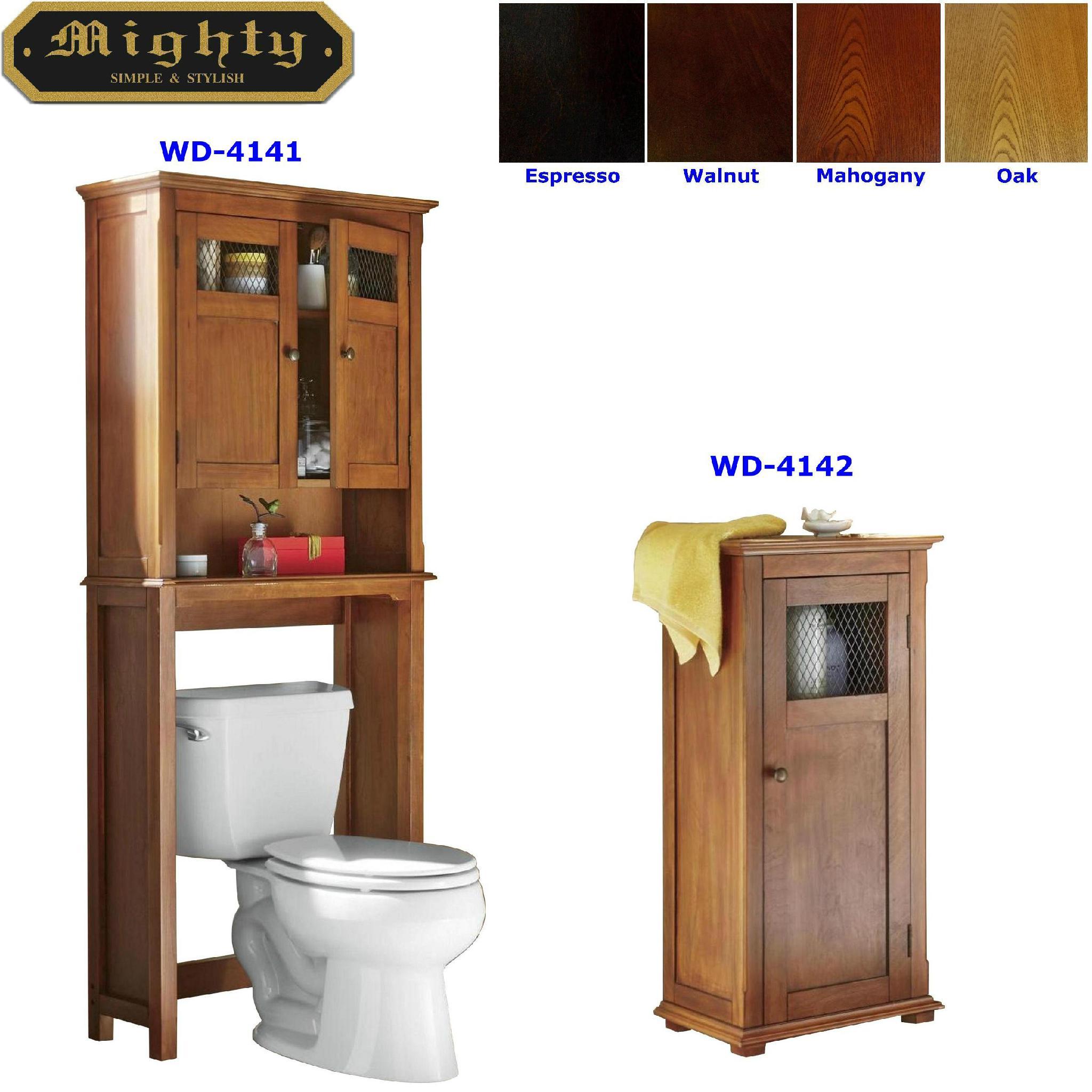 Bathroom floor cabinet over the toilet cabinet space saver taiwan for Bathroom space saver cabinets