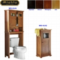 Bathroom Floor Cabinet & Over The Toilet Cabinet Space Saver
