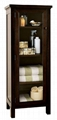 Wooden Espresso Towel Tower Linen Closet Toilet Cabinet