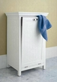 Wooden Tilt-Out Bathroom Storage Clothes Hamper