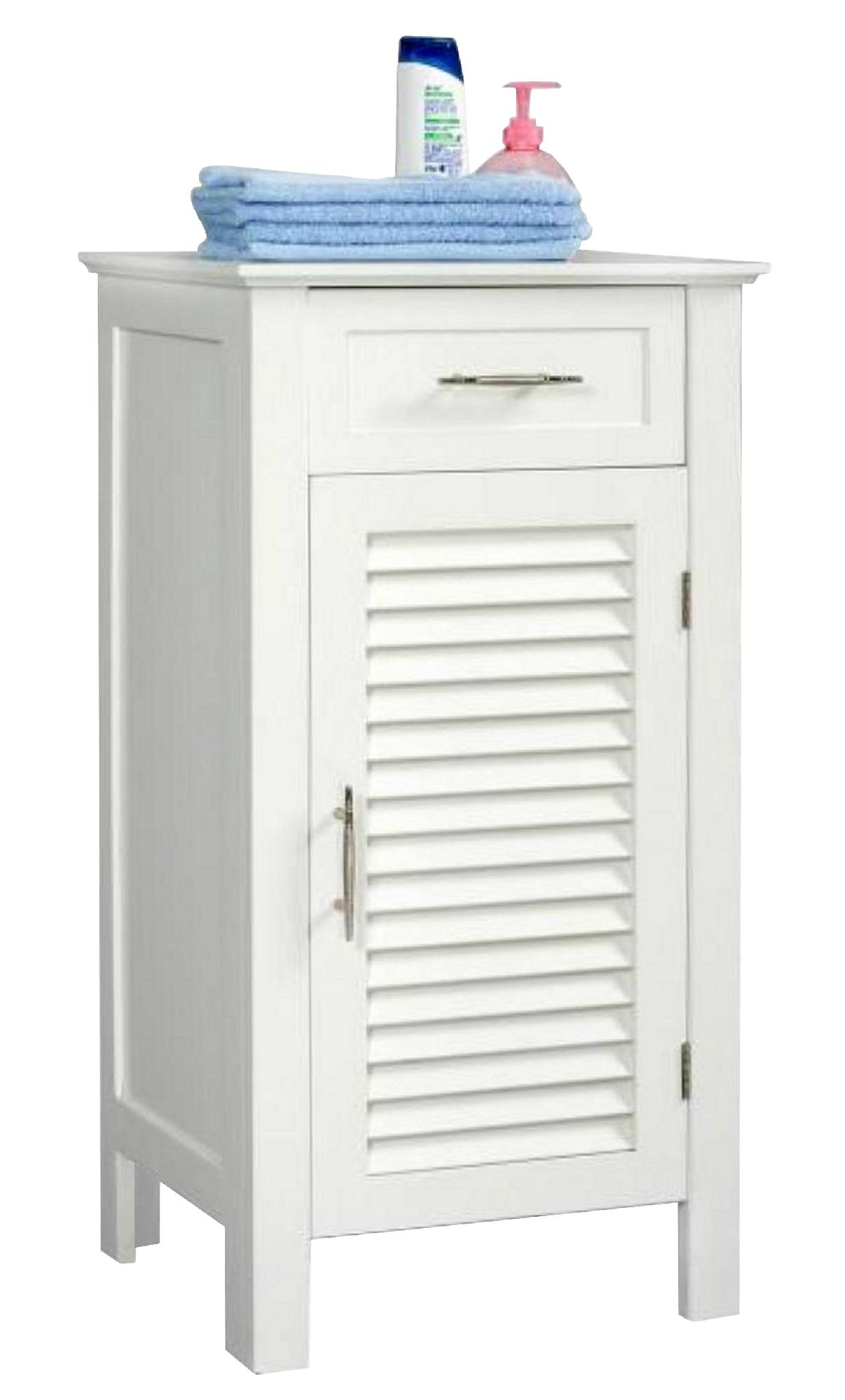small white storage cabinet louvered door bathroom small linen storage white cabinet 26419