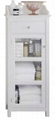 One Glass Door Slim Modern Small Bathroom Vanities
