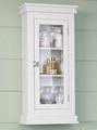 Latch Door Modern Over The Toilet Medicine Storage Cabinet