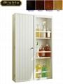 3 Tier Bathroom Wall Storage Cabinet Shelf