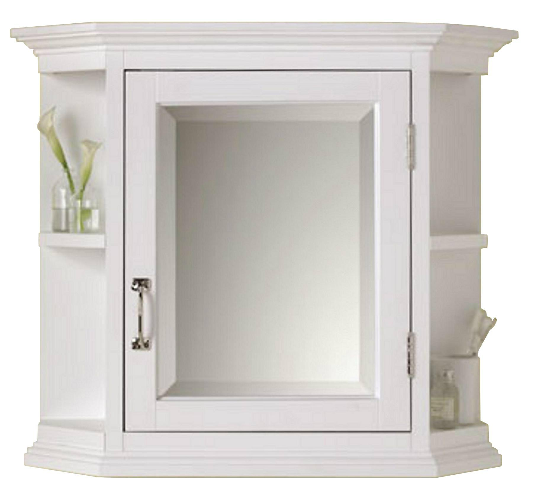 bathroom mirrored medicine cabinet octagonal style vintage mirrored bathroom medicine cabinet 16277