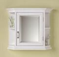 Octagonal Style Vintage Mirrored Bathroom Medicine Cabinet