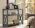 Wooden 2 Tier Charcoal Cheap Console Entry Tables