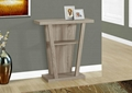 Wooden 2-Tier Hall Console Entrance Accent Table
