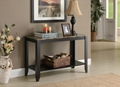 Faux Marble Top Sofa Long Console Table