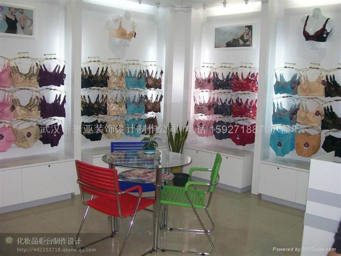武漢內衣專賣店櫃設計 2