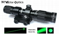 Vector Optics Hunting Green Laser Designator Flashlight w/ Mount , Charger