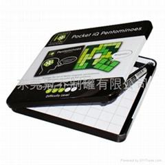Metal CD Case/Tin CD Box (GQ034)