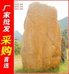广东陆丰大型黄蜡石a11