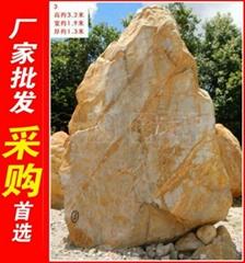 广东河源大型黄蜡石