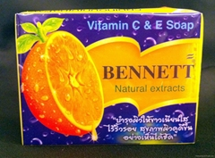 Bennett Natural Extracts (Vitamin C & E Soap), product From Thailand