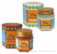 Tiger Balm(red & white) - Chinese herbal ointment