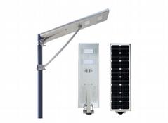 All-in-one led solar street Light 20W bridgelux LED 110-120LM/W