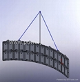 Air-handing frame