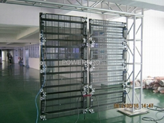 2012-Light LED curtain / floor