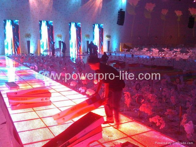 led dance floor, Wedding of princess in Abu Dhabi