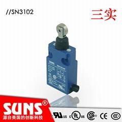 供应SUNS美国三实行程开关SN31系列安全限位开关 IP67防水限位开关