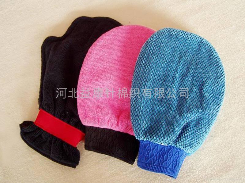 超細纖維清潔手套 1