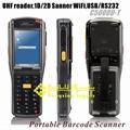 WiFi UHF handheld reader 1D/2D barcode