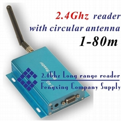 2.4G Active RFID non-direction antenna reader