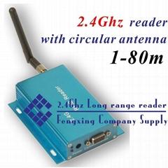 2.4G Active RFID non-direction antenna reader