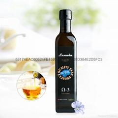 加拿大莫蘭亞麻籽油500